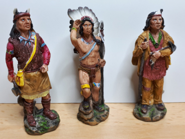 Indianer Figuren im 6er Set